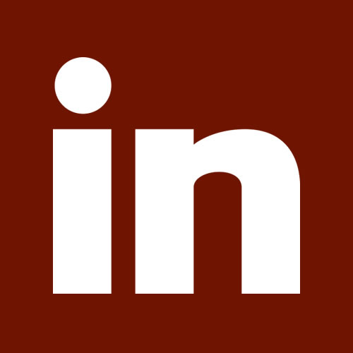Red LinkedIn Icon